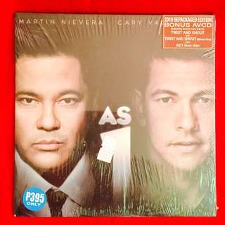 Martin Nievera / Gary V	-	As 1 	(CD+AVCD Repackaged Ed.)	(Sealed)
