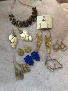 Selling all my jewelries
