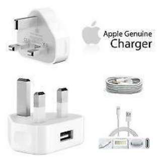 GENUINE Apple Lightning Cable 1 meter+ plug