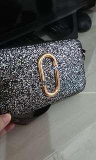 Sling bag MJ glitter freeong