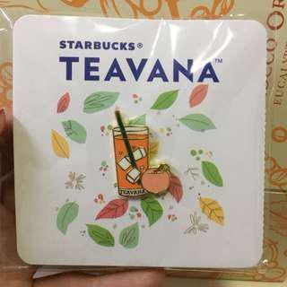 襟針,胸針, brooch, 心口針 Starbucks teavana 星巴克