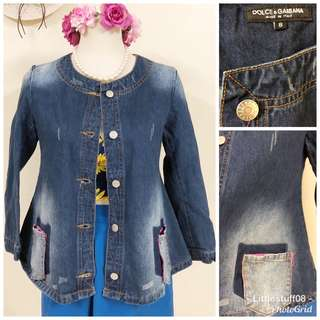D&G Denim Jacket