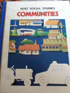 Holt Social Studies Communities