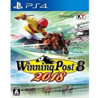 (全新) PS4 Winning Post 8 2018 (日版) - 賽馬大亨 跑馬 比賽