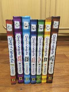 Diary of a Wimpy Kid 1-7