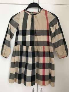 (8Y) Burberry Vintage check 連身裙
