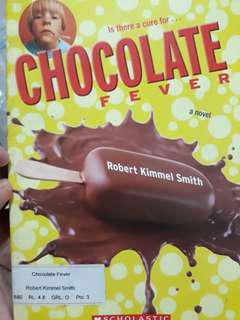 Is there a cure for chocolate fever -Robert Kimmel Smith