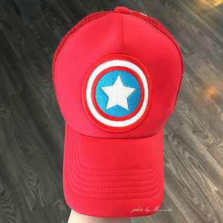 PaulFrank大嘴猴美國隊長網帽 Captain America Marvel (近全新)