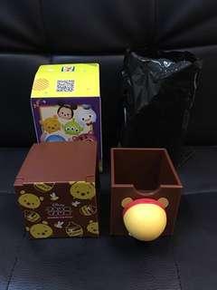 淸貨📣7-11全新Winnie The Pooh 'pat pat' 盒仔