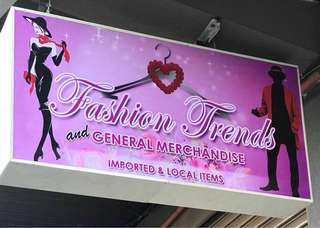 FASHION TRENDS NOW OPEN!!