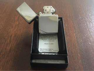 Vintage High Polish Chrome Zippo Lighter