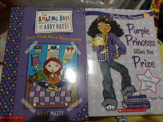 The Amazing Days of Abby Hayes and Purple Princess Wins the Prize