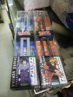 全新原裝日版 火影忍者 Naruto 狐忍 疾風傳 武器 筷子 合計兩對set
