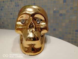 金色骷髏💀蠟燭台
