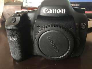 🚚 Canon 7d body 盒裝配件
