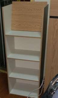 新櫃,未用過,頂未裝,可自行買兩口螺絲镶好佢 ,頂面角披起了,已砌好 原價498