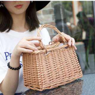 ready stock : beach basket bags