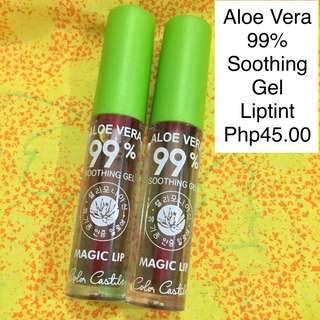 Aloe Vera 99% Soothing Gel Lip Tint - Very nice color magic liptint - sold per piece