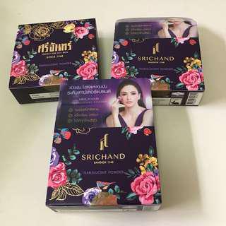 泰國 Srichand 紫色超控油碎粉