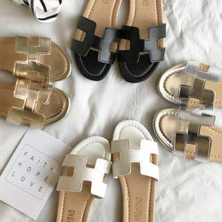 Free shipping - Vivy Yusof's daily sandals (size 36-40)