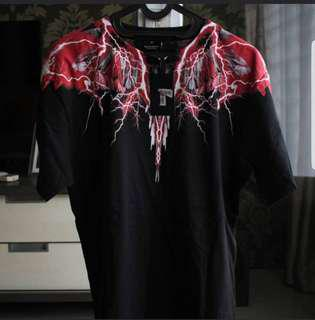 Marcelo Burlon Red Thunder Wings