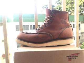 Red Wing Shoes Dog Craved