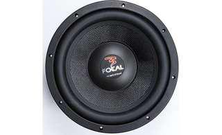 "Focal Access 25 A1 10"" 4-ohm subwoofer with ported box"