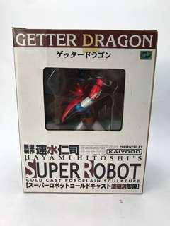 Super robot Getter dragon sculpture