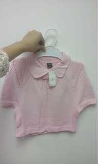 全新baby Gap 外套(粉紅色)(2T, 3T, 5T碼)有吊牌! 送平郵
