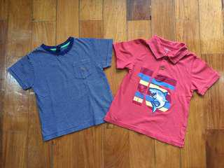 (18-24 mos) Set of 2 toddler tops