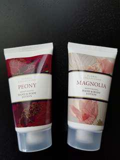 Marks and Spencer Hand & Body Lotion x2