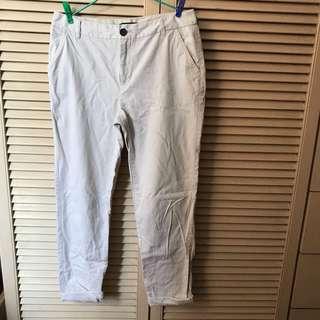 Forever 21 light beige jeans 米白 杏色 長褲