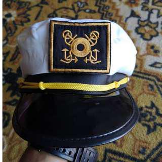 Mark Twain River Boat Captain Hat