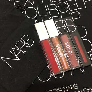 NARS Full Vinyl Lip Lacquer / Powermatte Lip Pigment (5.5ml)