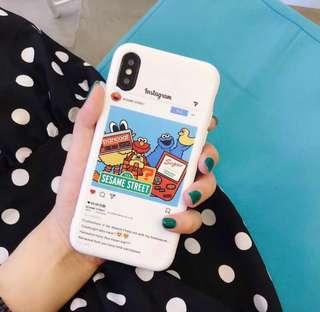 🚚 Sesame Street iPhone8 Phone Cover