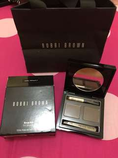 Sale bobbi brown brow kit original New (harga nett) counter 750rb