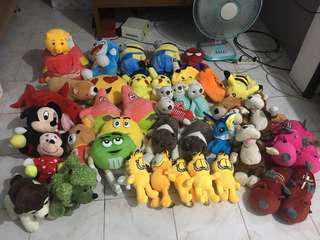 STUFFED TOYS: PHP100 +/-
