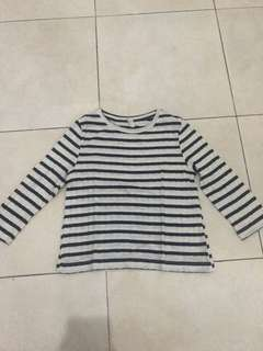 stradivarius 3/4 top