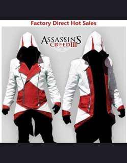 Assassins Creed Cosplay Fashion Hoodie