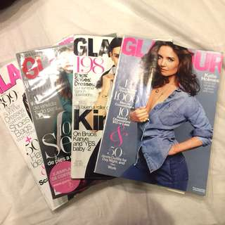 Glamour US / Mexico Back Issues Bundle