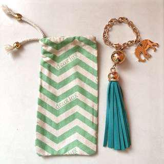 Deux Lux Bag Charm Tassel