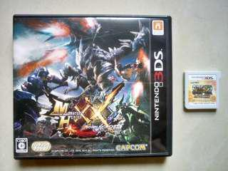 3DS mhxx monster hunter xx super street FIGHTER  4 街霸4  日版