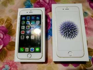 Selling my pre-loved Iphone 6 32GB Gold (smartlock)