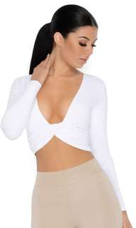 OhPolly Twisted Crop