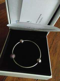 Pandora bracelets with charms