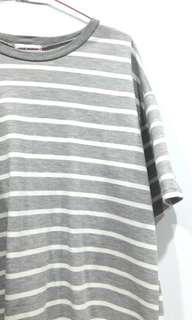 灰色條紋短T(原價150)
