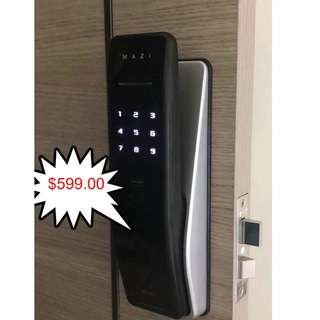 Mazi Push/pull digital lock $599,call 88668884