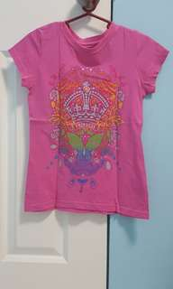 Pink Top for Girls