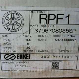 WTS: Enkei RPF1 16 inch (3 Pieces)