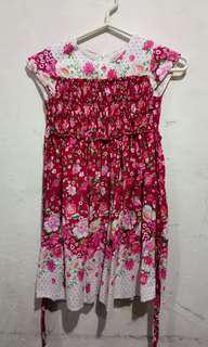 Dress bunga pretty girls 6th